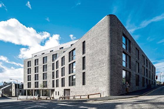 The Aberdeen student development is the first to receive a Saltire Housing Design Award in its 81-year history.