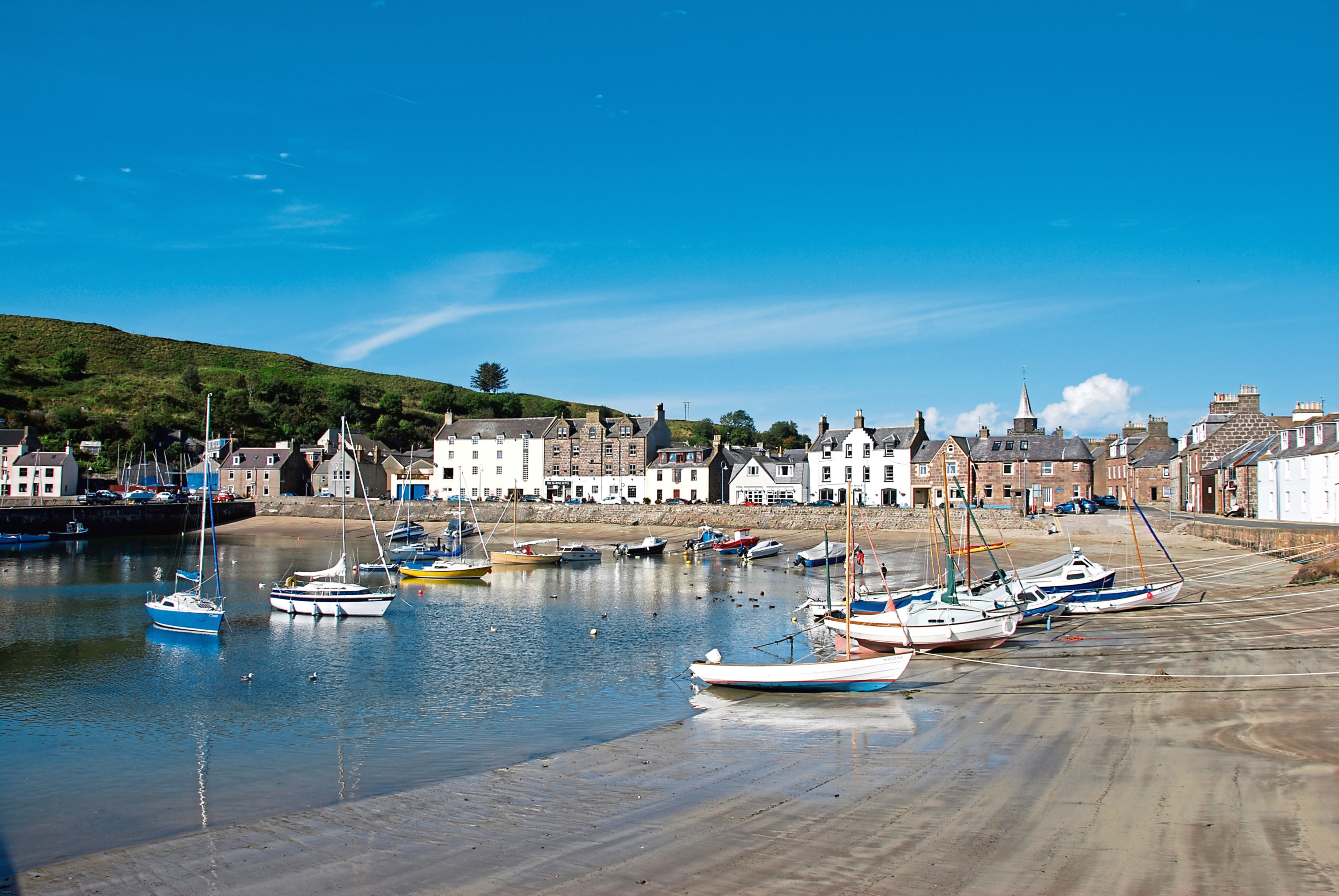 Stonehaven has been named one of the most expensive seaside towns in Scotland.