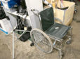 A wheelchair is among the items yet to be collected at Balmoor Stadium