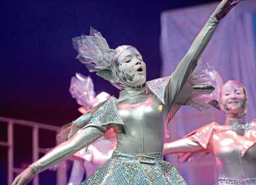 Peterhead Academy is taking part in the Northern Premier final of Rock Challenge on Saturday.
