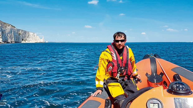Mike Reading travelled to the RNLI College for the training