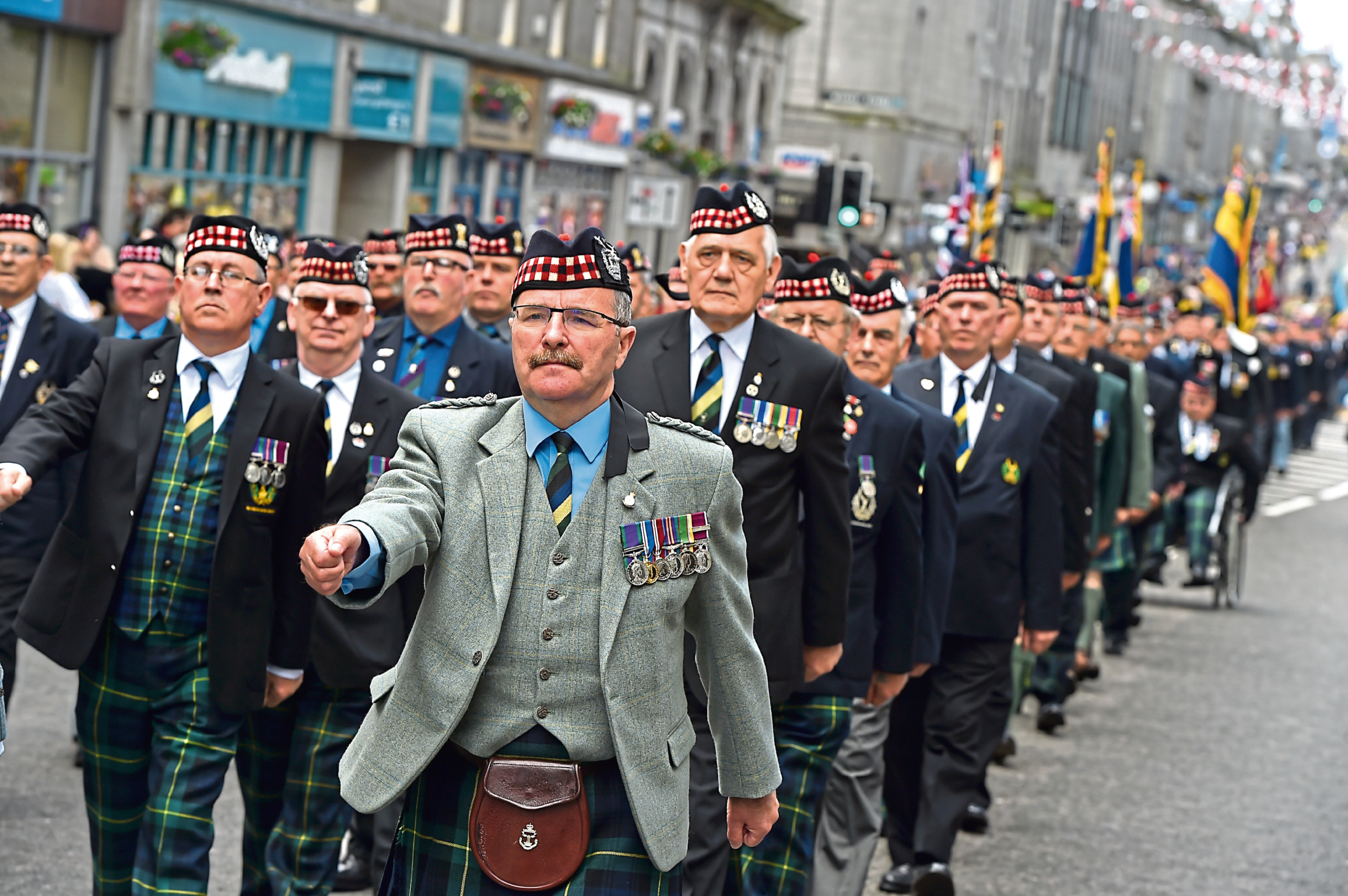 Aberdeen Armed Forces Day 2017.