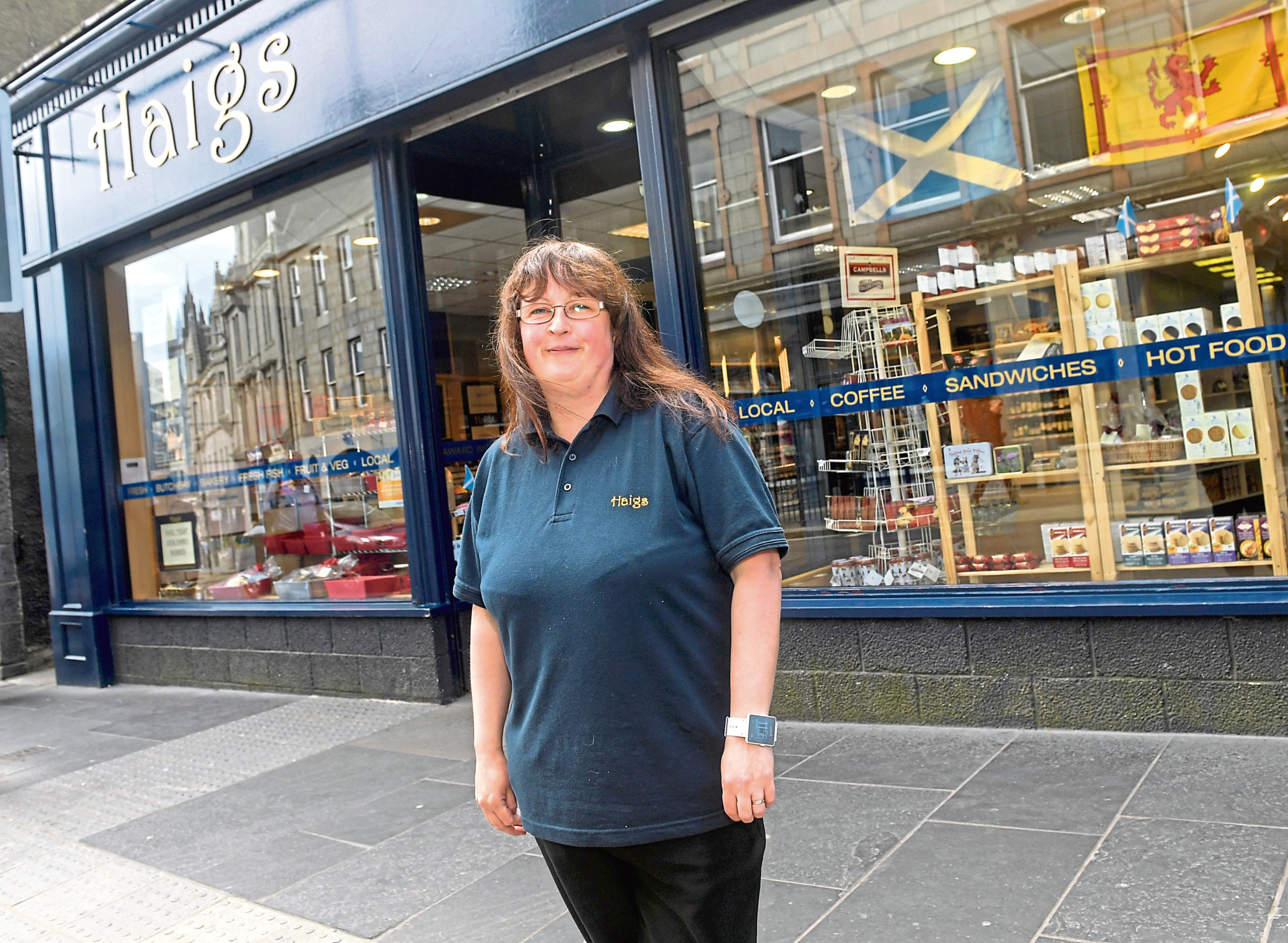 Retail Awards feature. Julie Haig at Haigs, Schoolhill. 06/06/18. Picture by KATH FLANNERY