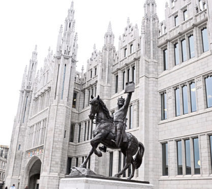 Marischal College, Aberdeen City Council's HQ