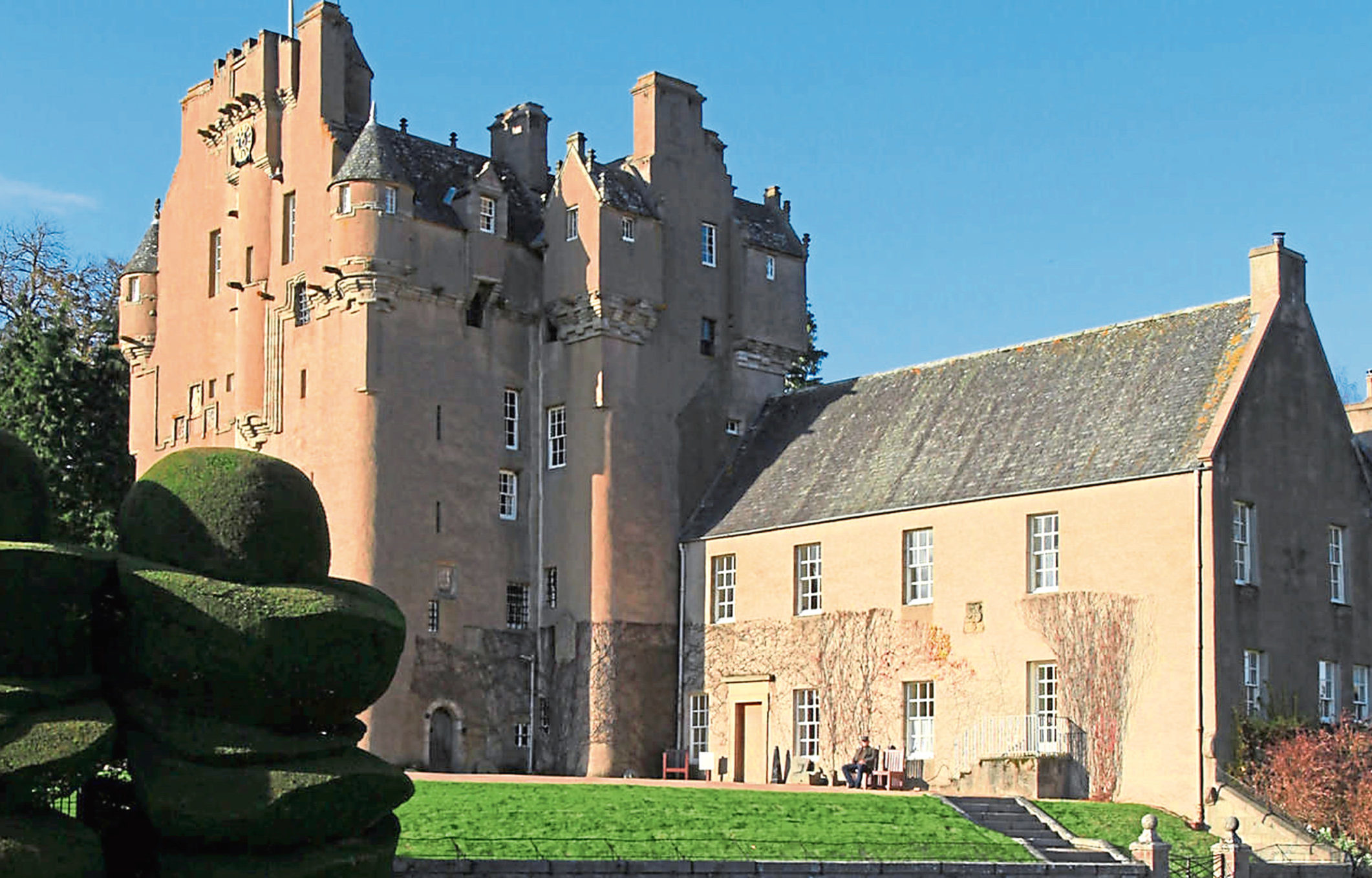 The Antiques Roadshow will be at Crathes Castle on Sunday