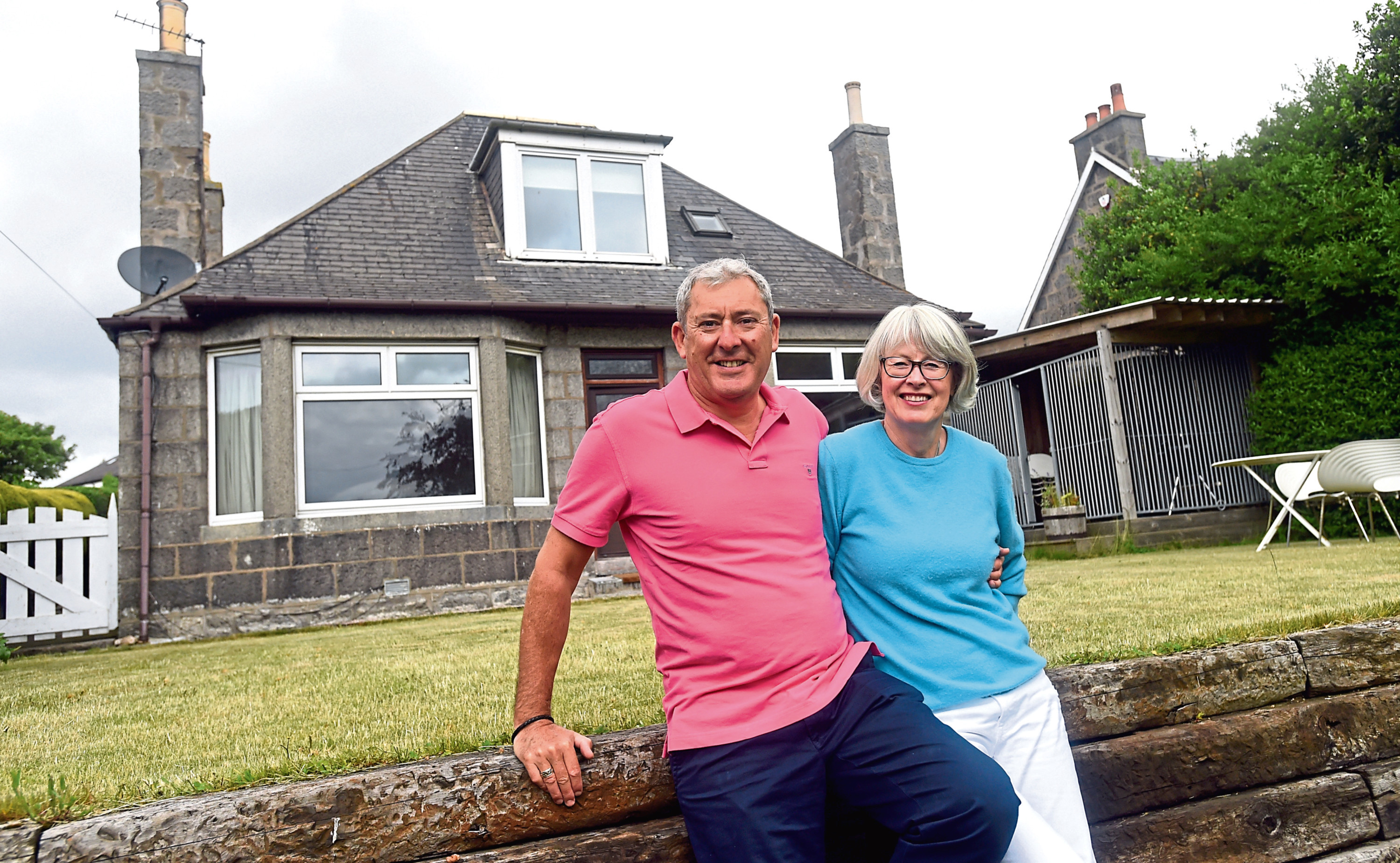 You May Like-30 Balnagask Road, Torry. Pictured are Jane and John Cruickshank. 20/06/18 Picture by HEATHER FOWLIE