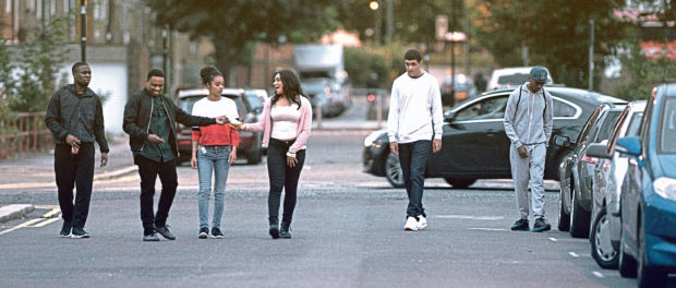 Obey, starring Sophie Kennedy Clark, explores the East London riots of 2011.