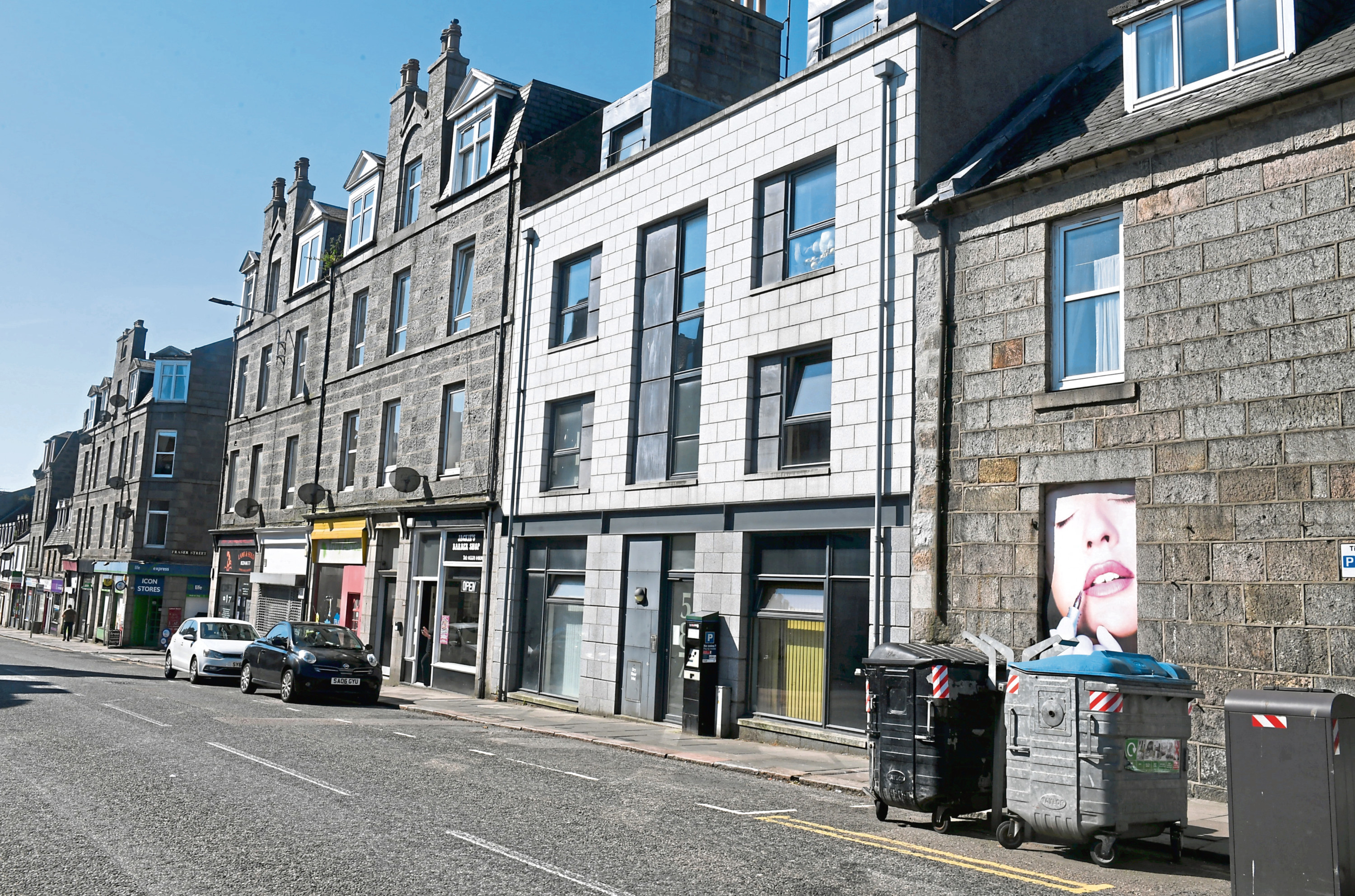The George Street Project provides a care at home service to people across Aberdeen.