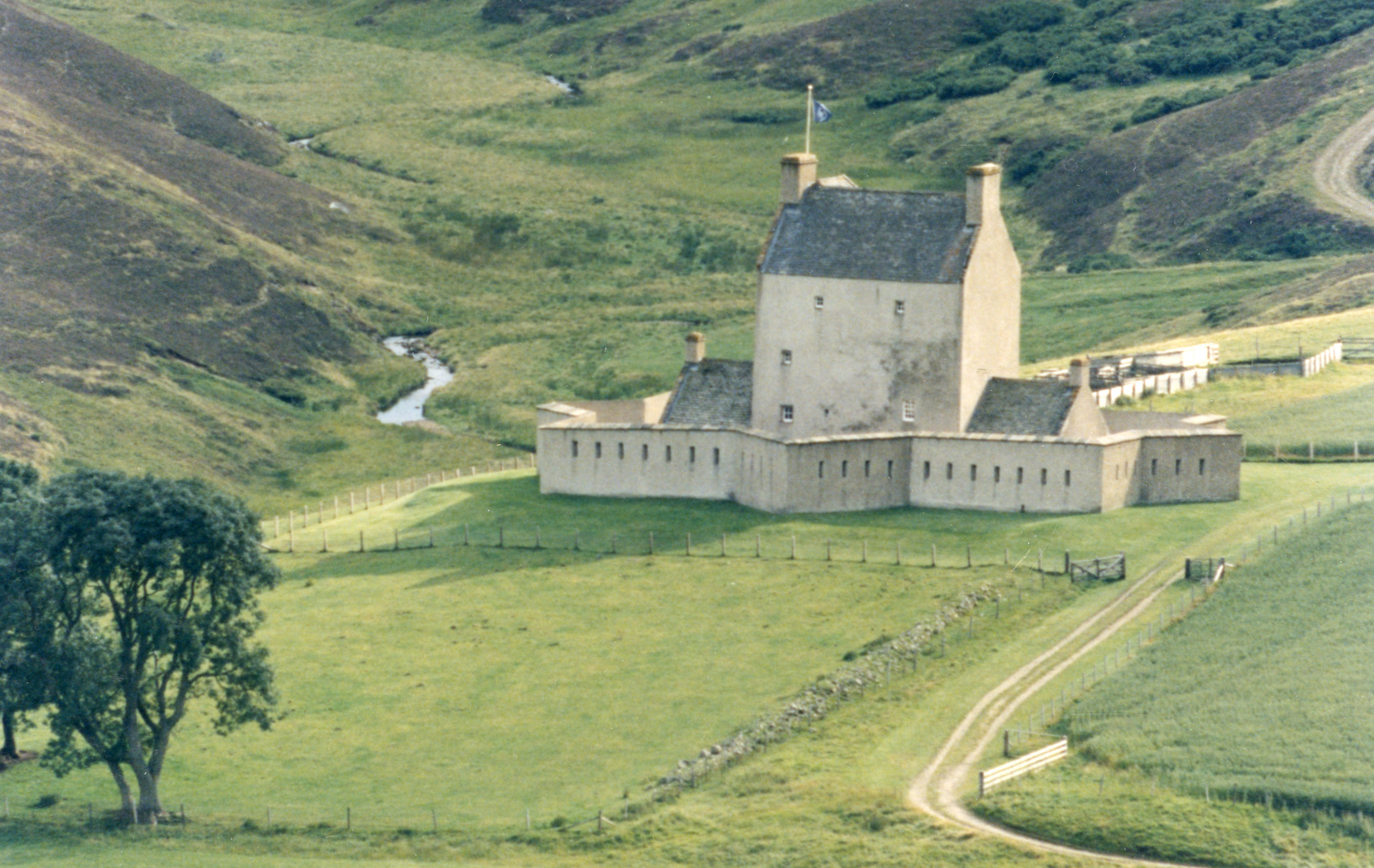 A view of Corgarff Castle, Strathdon taken in 1995.