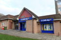 The incident happened at the Coral Bookmakers in Aberdeen.