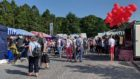 Crowds have already started visiting the more than 200 stalls at this year's Taste of Grampian