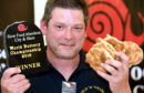 Mark Burnett, 48, the first ever winner of the World Buttery Championship.