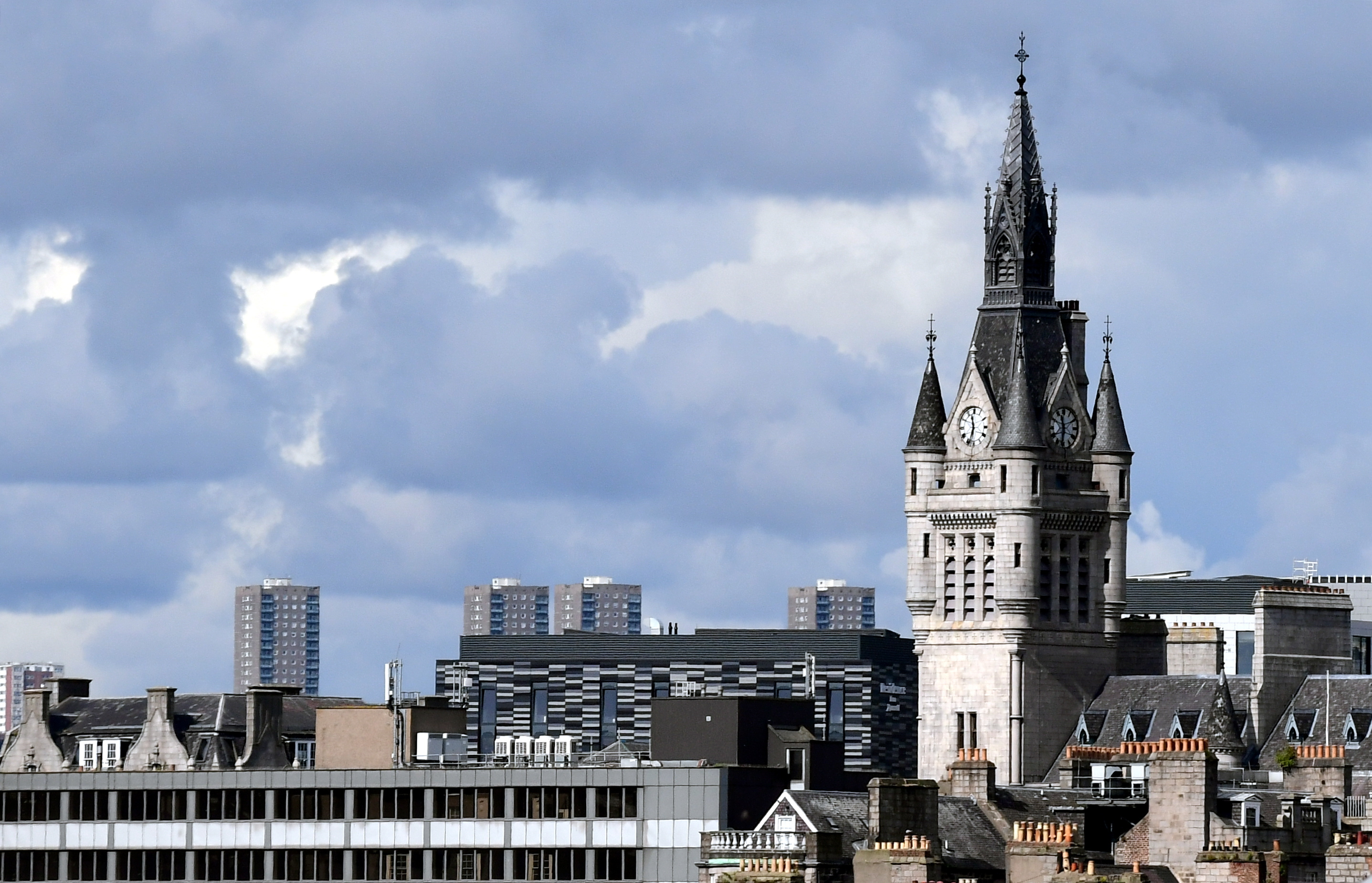 Aberdeen's population is shrinking, according to new figures