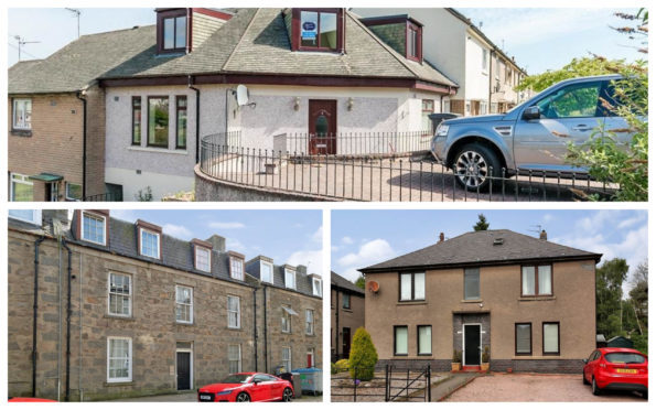 These three properties are on the market starting at £99,000
