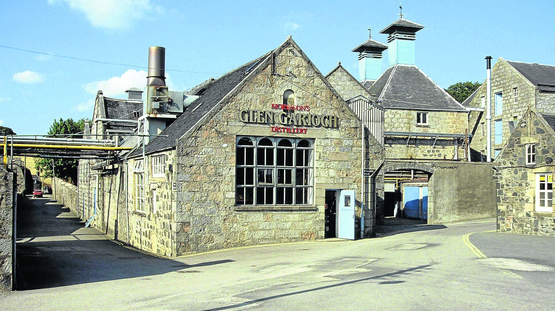 The event will be held at the Glen Garioch Distillery
