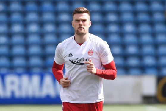 Aberdeen's Mikey Devlin.