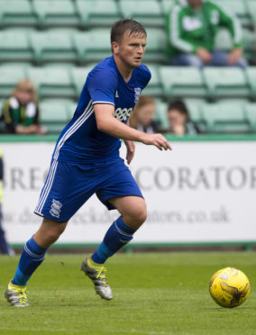 Aberdeen's new signing Stephen Gleeson in action during his time with Birmingham City.