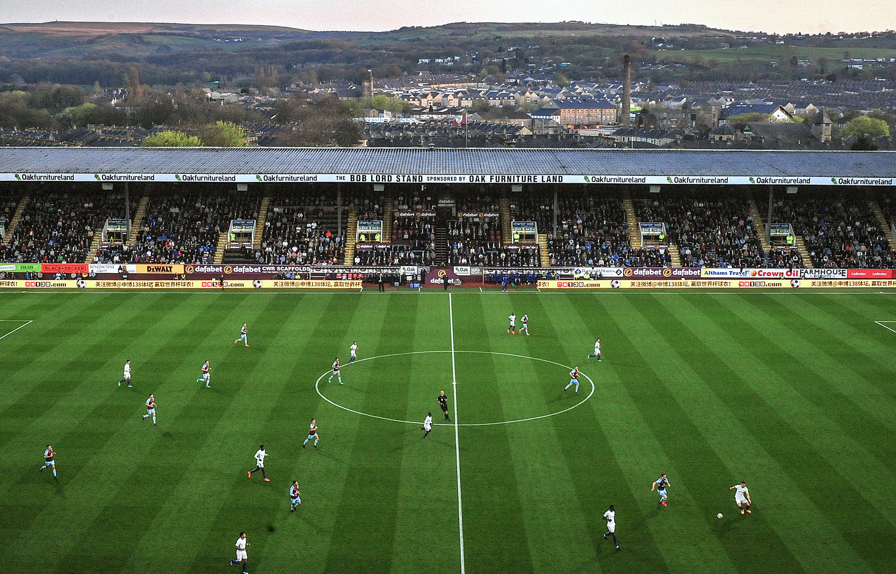 Burnley's Turf Moor.