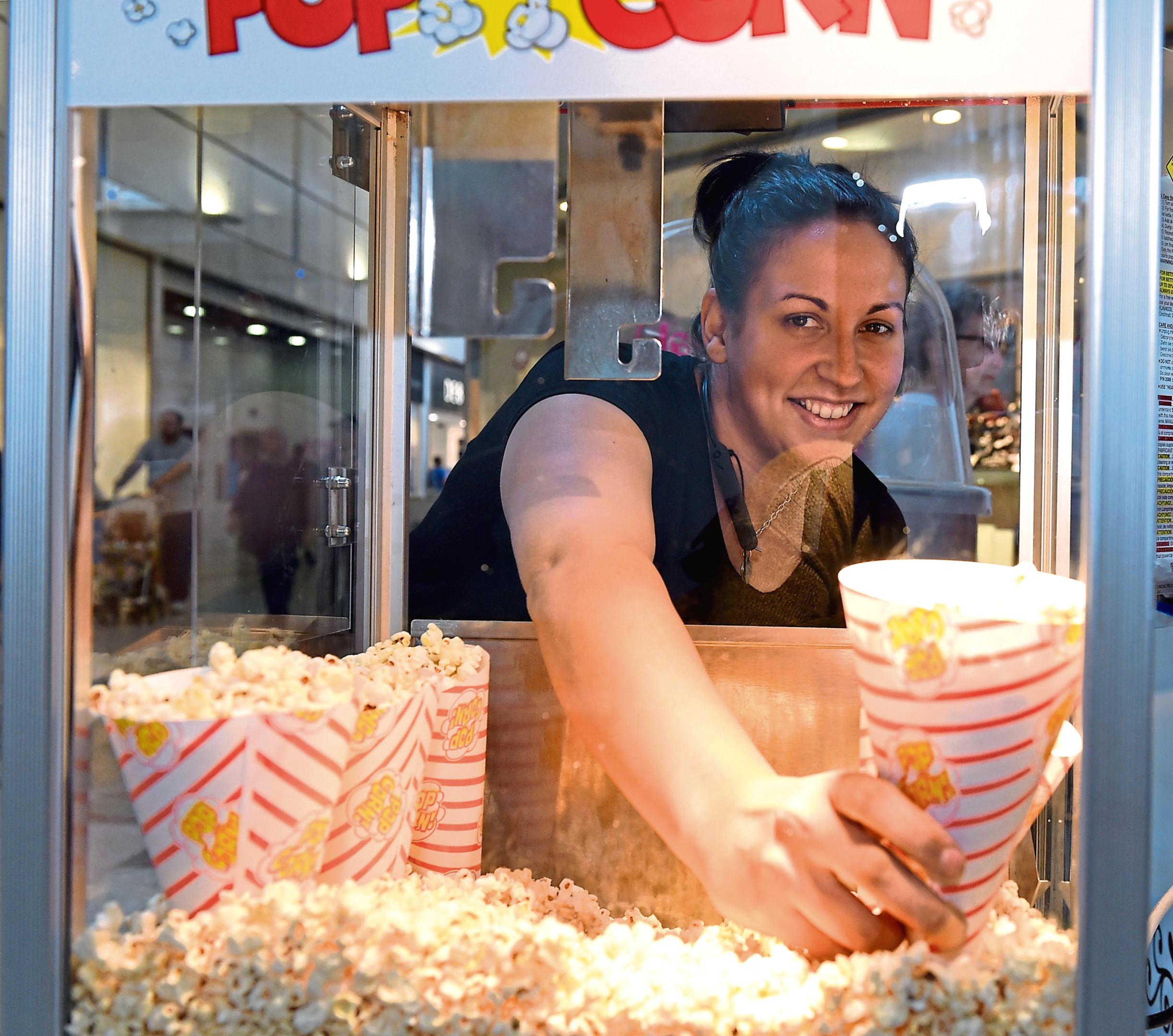 Mirisha Coull, of Wowzie popcorn