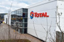 Total's offices in Westhill