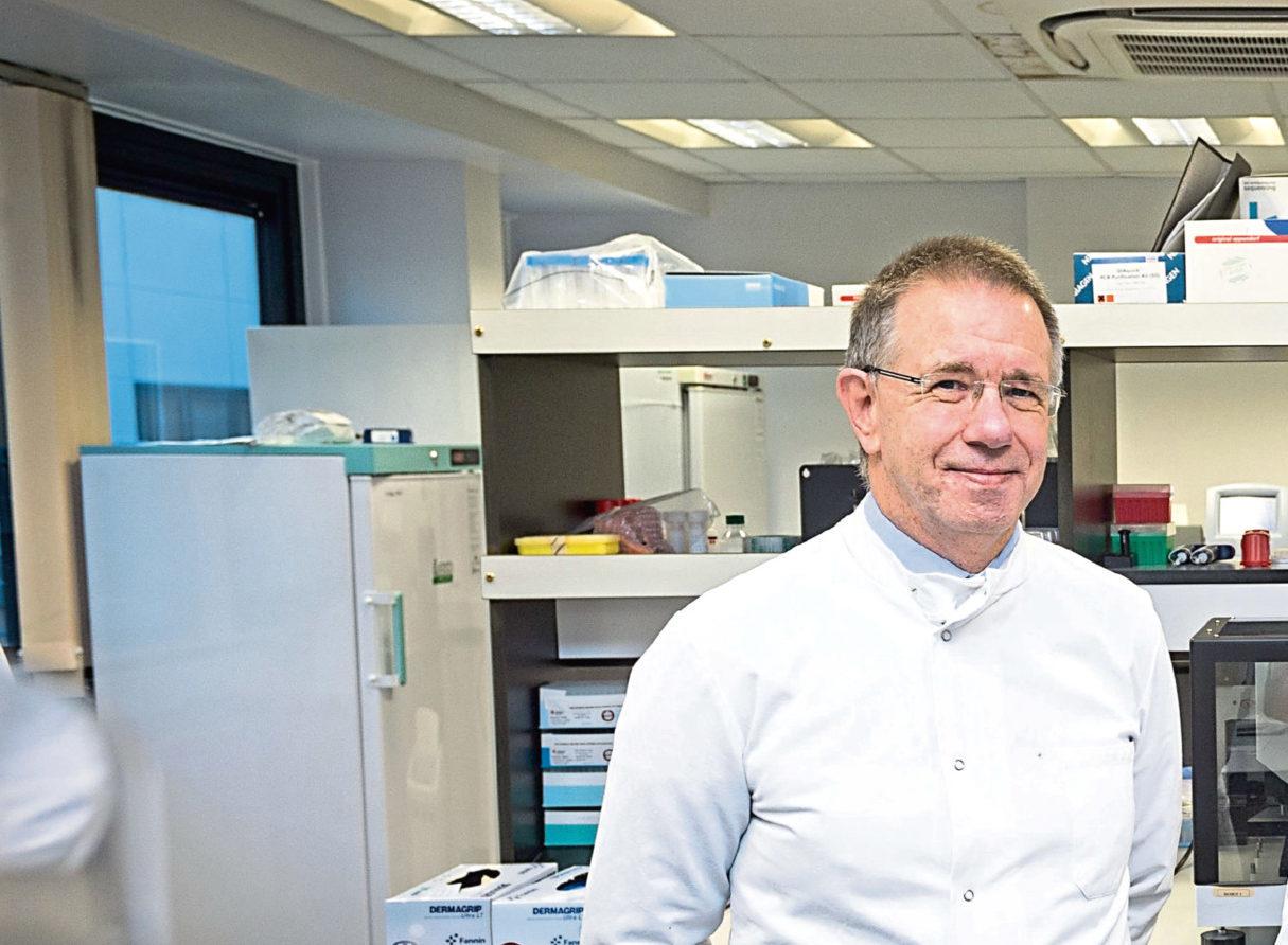 Professor Steve Heys, head of the School of Medicine at Aberdeen University.
