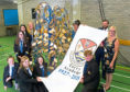 A special piece of art was commissioned. The metal tree by artist Margaret Preston