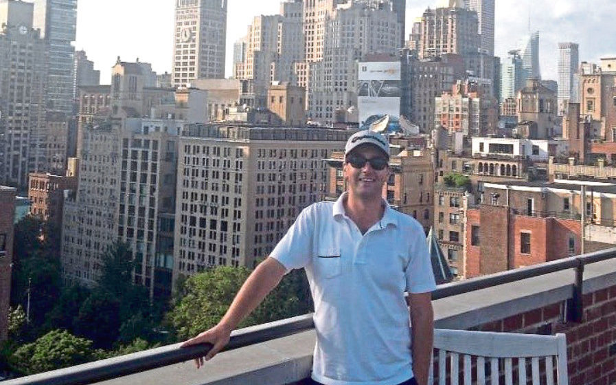 Neil Fyfe in New York