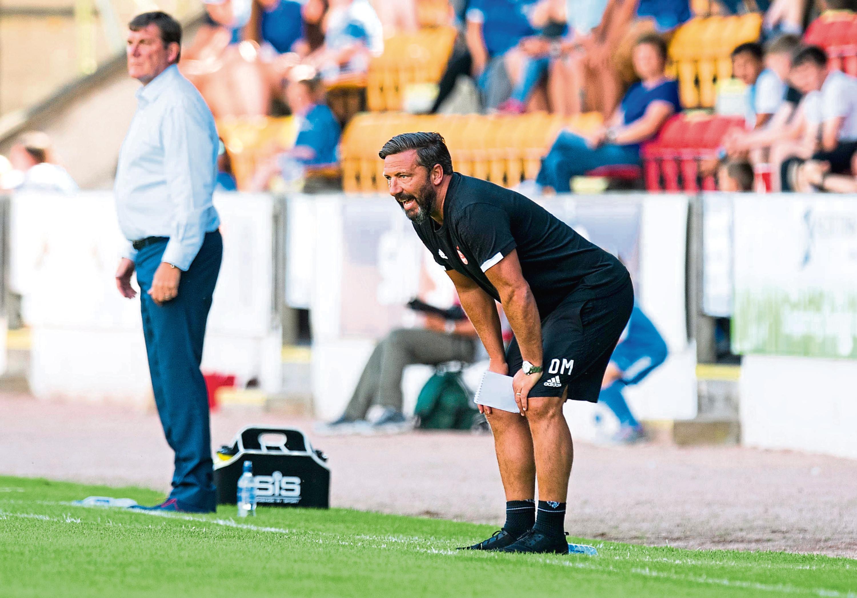 Aberdeen Manager Derek McInnes yesterday