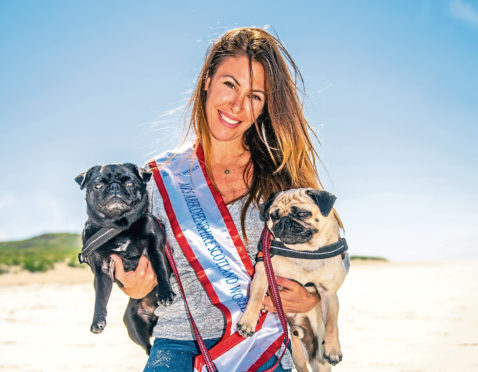 Doreen Devore, originally from Manhattan, has been chosen as a national finalist to represent Mrs Scotland at the Mrs World UK competition