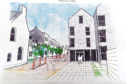 Artist's impression of Torry Development Trust's plan for the Victoria Road School site
