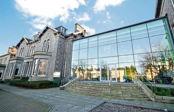 Albyn School in Aberdeen.