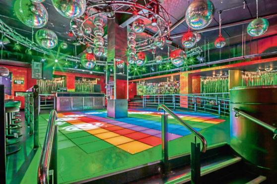 The Vinyl Room could be similar to this