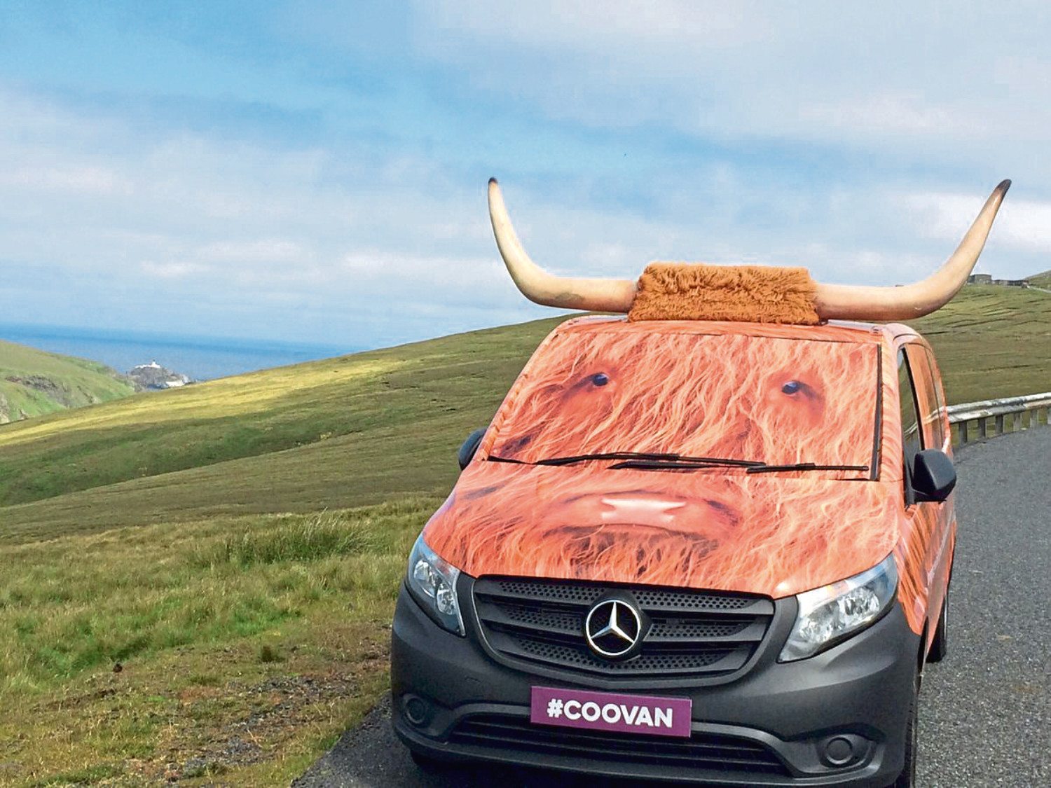 VisitScotland's coo van will be at the Aberdeen Science Centre