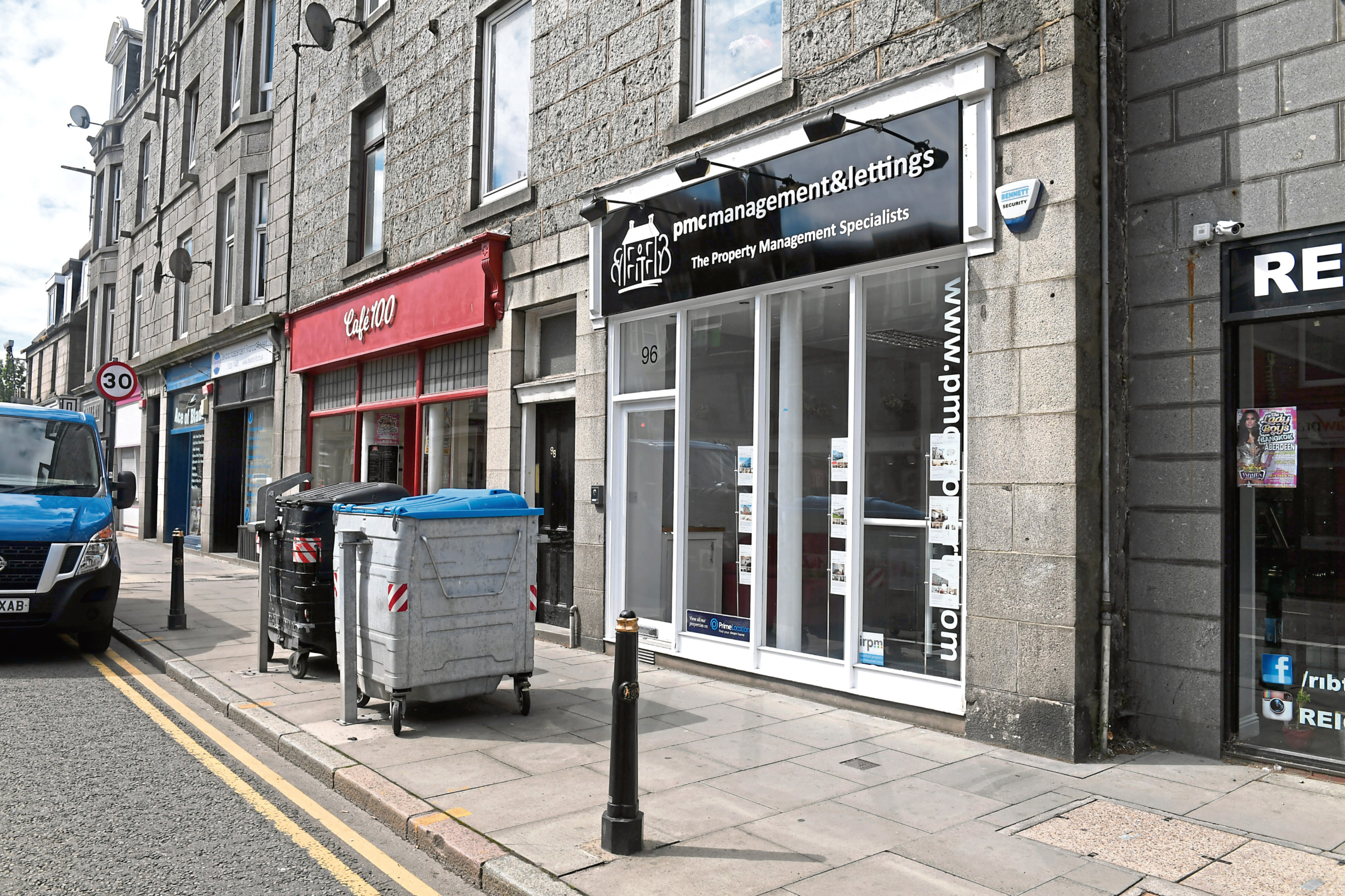 The Property Management Company just moved from Oldmeldrum into Aberdeen