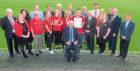 Aberdeen Football Club Community Trust received the award