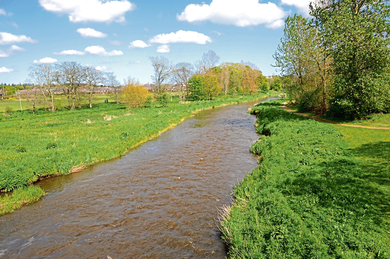 The River Ythan in Ellon