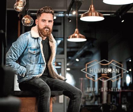 Kyle Ross says the Huntsman salon goes 'far beyond just a haircut'