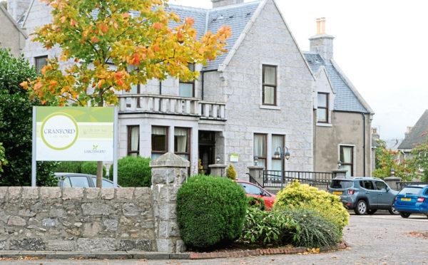 Cranford Care Home in Aberdeen.