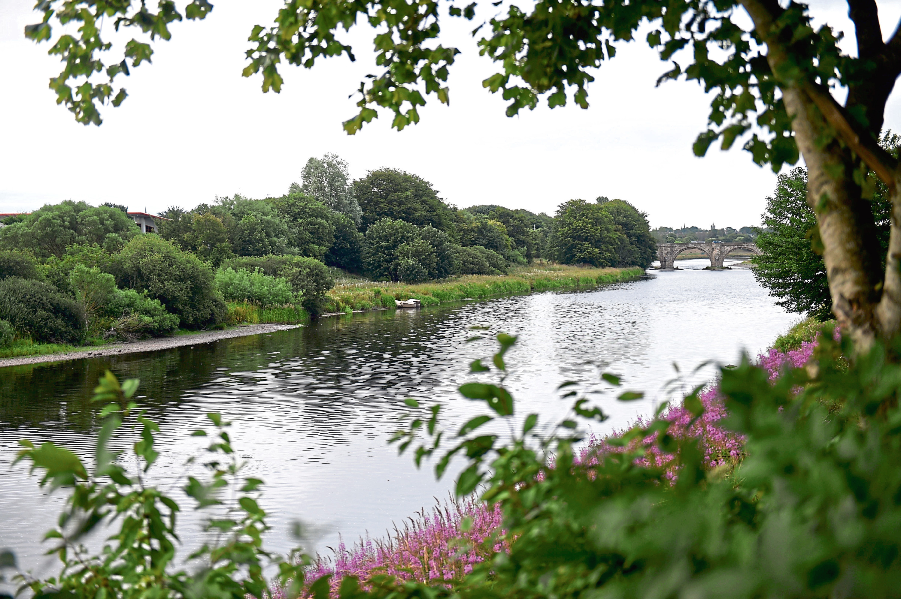 The two teens were rescued from the River Dee at Garthdee
