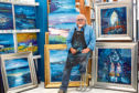 Painter John Lowrie Morrison will preach at Crathie Kirk on Sunday