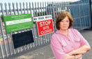Councillor Wendy Agnew at Redcloak Household Waste Recycling Centre