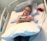Olivia Brands, 9, from Kincorth, spent hours in theatre on Monday, as part of a procedure called a Selective Dorsal Rhizotomy