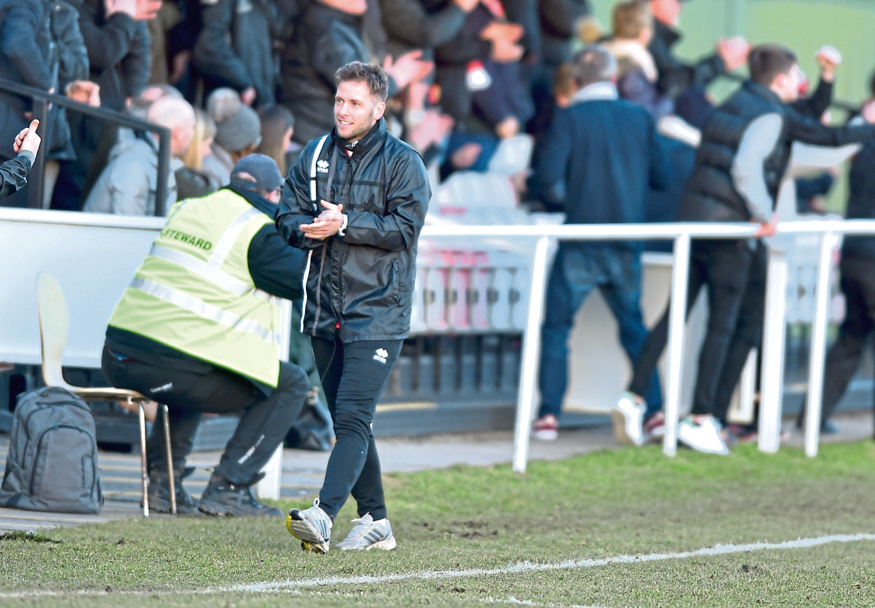 Formartine manager Paul Lawson is relishing the start of the campaign