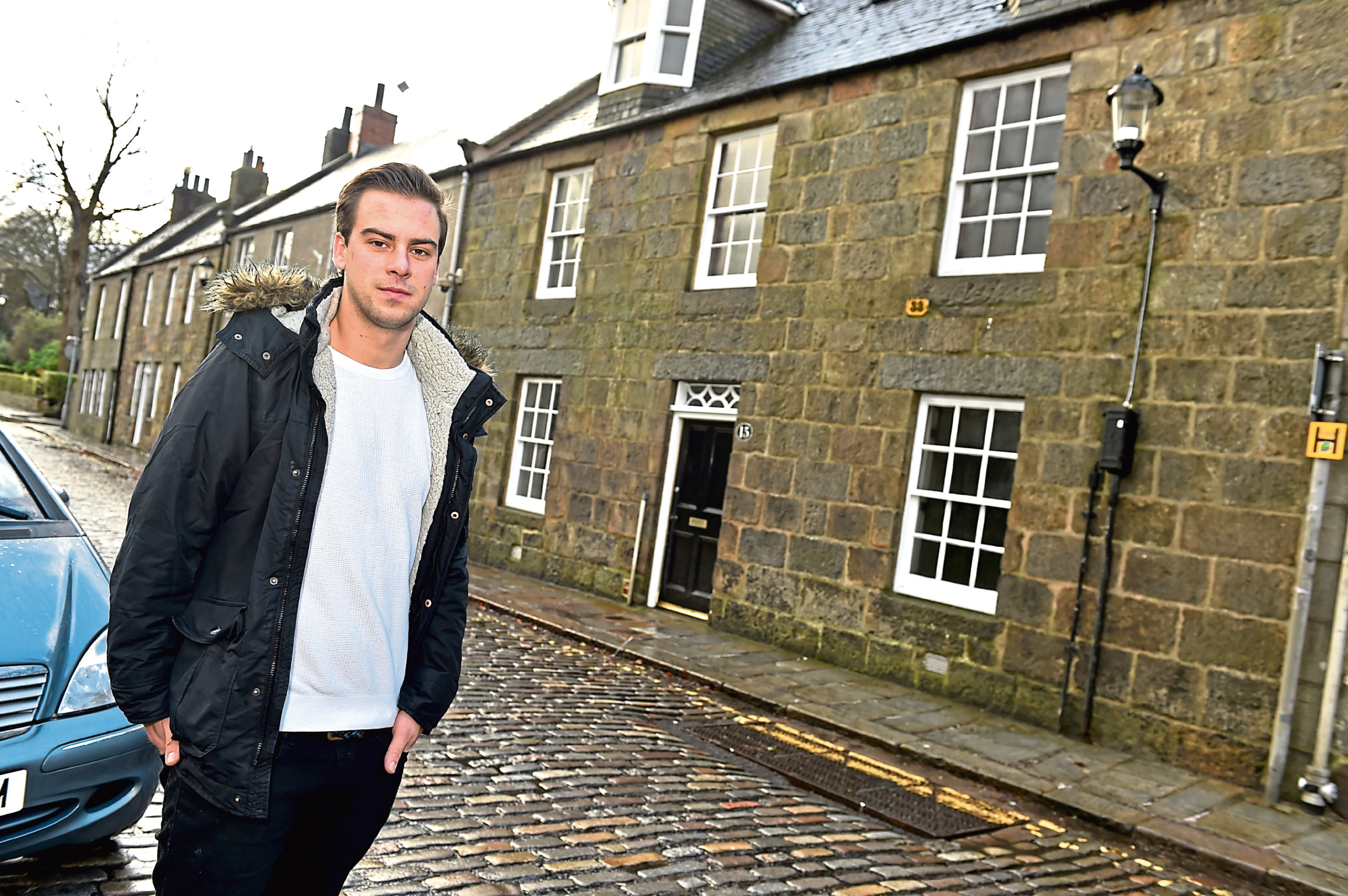 Juliusz Matraszek would like to turn an Old Aberdeen High Street building into a pub