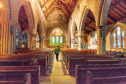 Inside Brechin Cathedral