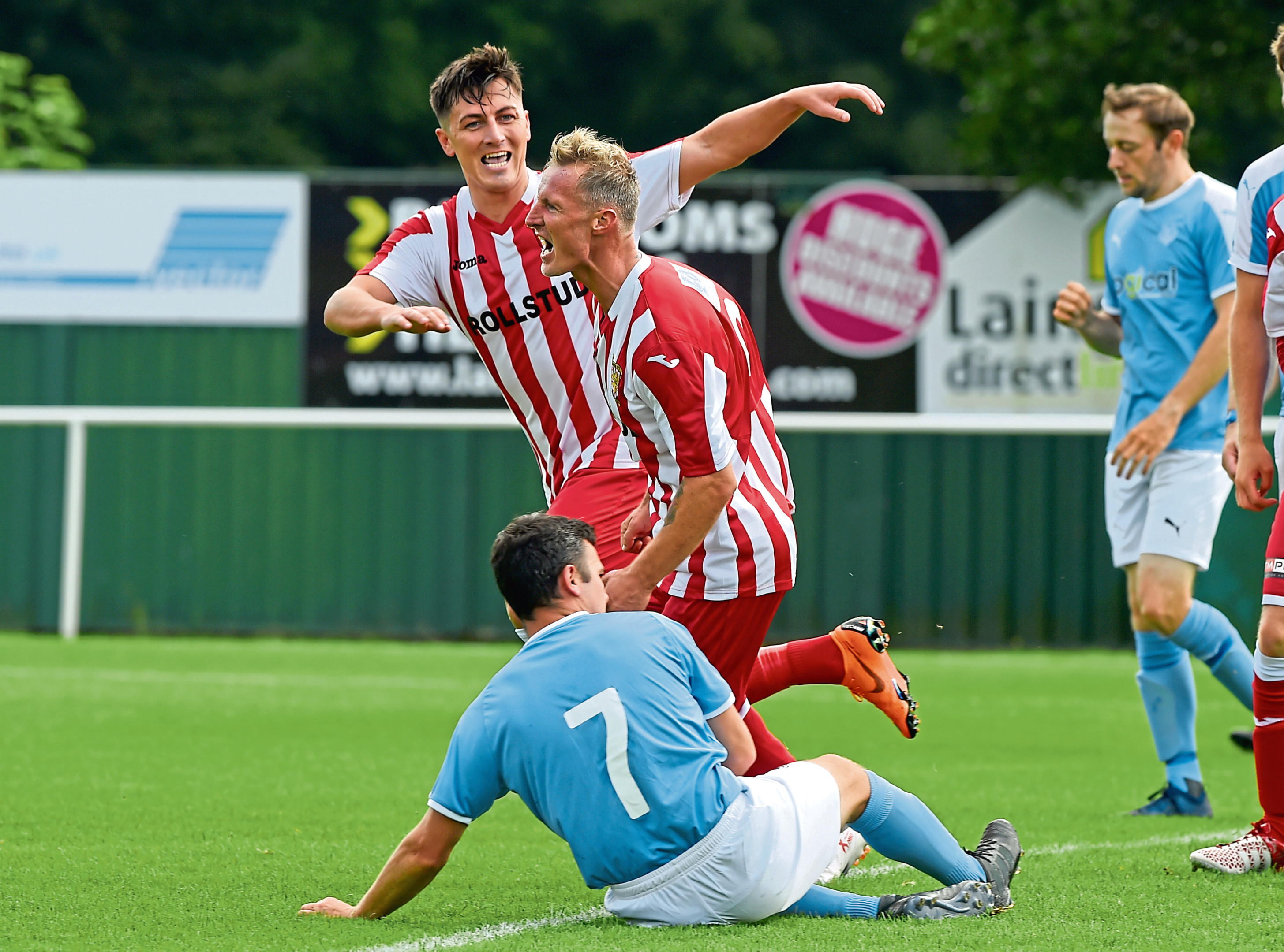 Formartine United will travel to Ireland to play Coleraine in the Irn-Bru Cup.