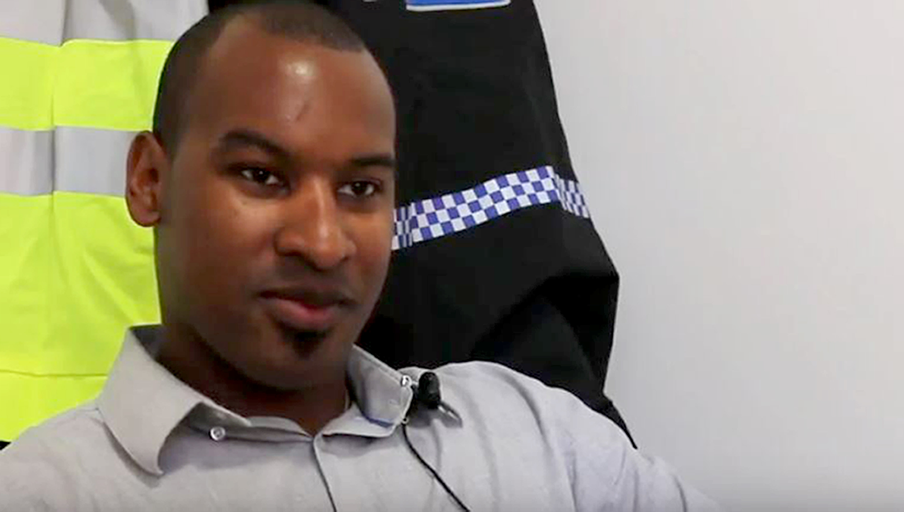 BTP officer Wayne Marques was stabbed during the London terror attack