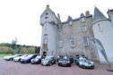 The Cannonbawz Run hit the road from Ballindalloch Castle on Scotland's newest driving route, the North East 250