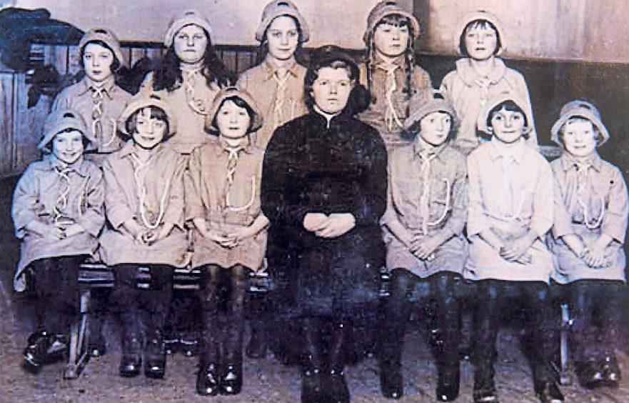 Girl Guides 30th pack St Fitticks in 1933