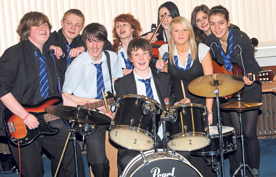 An S4 music class in 2011